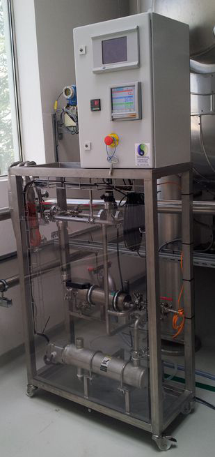 Test Skid for real-time measurements