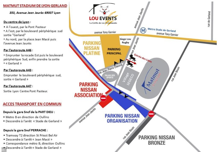 access map to the Forum